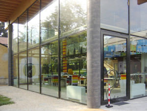 Vetrata-negozio