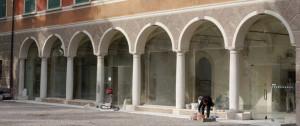 Vetrate galleria Villa Mirra Cavriana Mantova