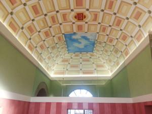 parete divisoria a soffitto