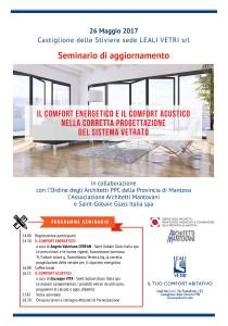 Locandina Evento Leali Vetri 2017