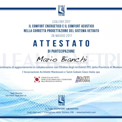 attestato leali day 2017